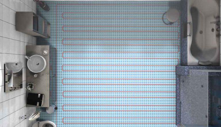 Floor Heating Membrane